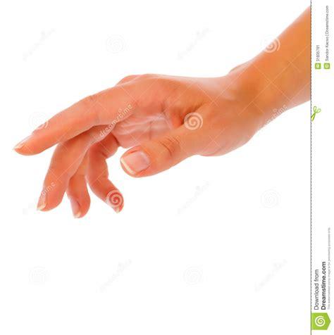 Woman Hand Reaching Stock Image   Image: 31835791