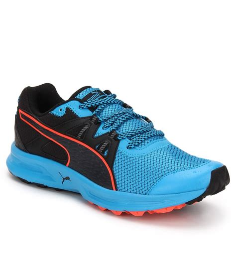 pama sports shoes descendant blue running sports shoes available at