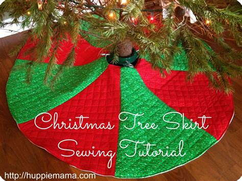 how to make a tree skirt for tree skirt