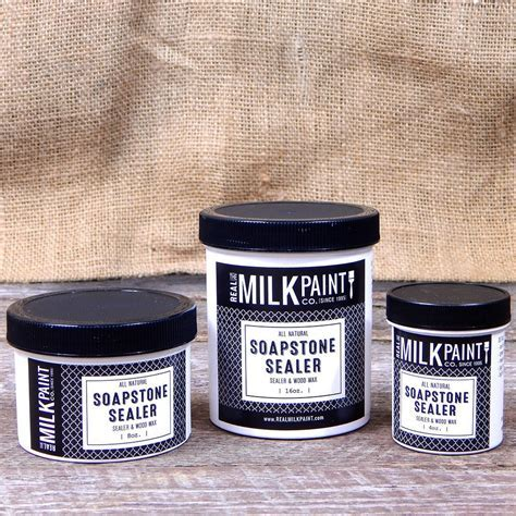 Soapstone Sealer & Wood Wax for Milk Paint