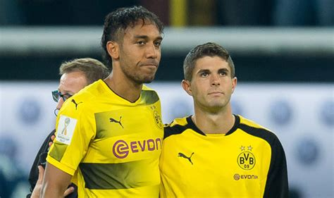 christian pulisic manchester united man utd news christian pulisic in talks with aubameyang