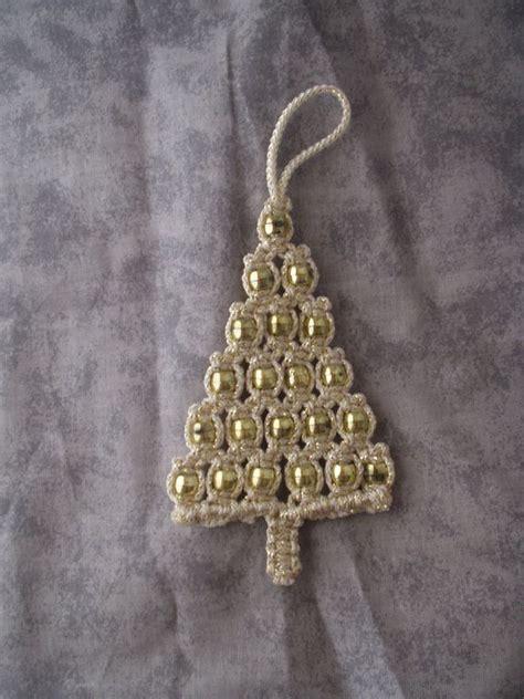pattern for macrame christmas tree macrame ornament christmas tree gold christmas trees