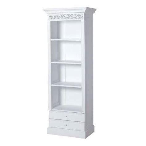 Narrow White Bookcase Book Cases N A R Narrow 5 Shelf White Bookcase