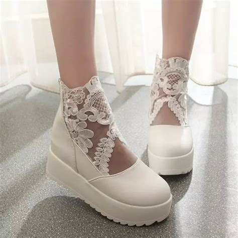 womens white wedding shoes summer white lace wedding shoes for black