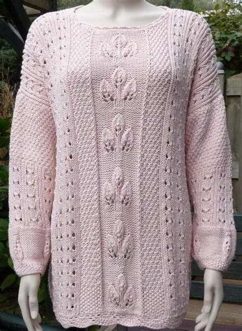 knitting pattern lace jumper hand knitted sweaters patterns