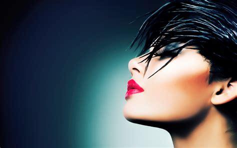 hd wallpapers black hair styling products lpp nebocom press woman model beautiful face make up dark hair eyes closed