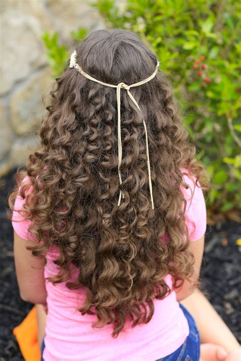 cute girl hairstyles rag curls how to create quot no heat quot paper towel curls cute girls