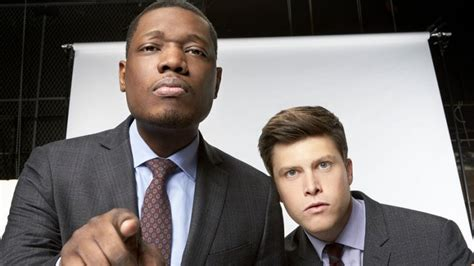 michael che website snl s colin jost and michael che to host 2018 emmys