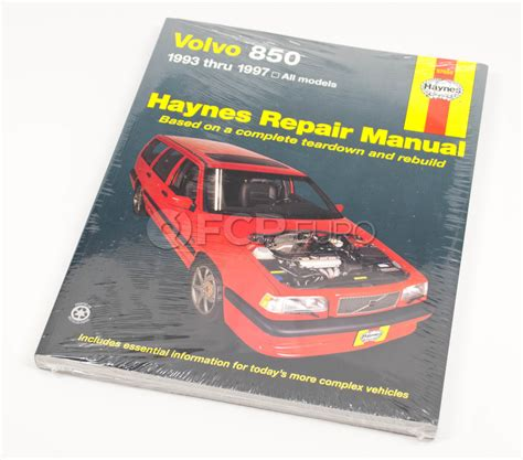 service and repair manuals 1994 volvo 850 navigation system volvo haynes repair manual 850 haynes 97050 fcp euro