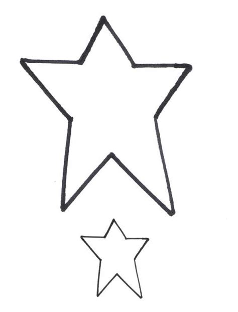 small star template free print clipart best