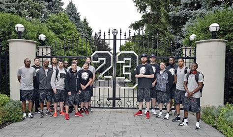 micheal jordan house oh you know just playing basketball at michael jordan s house sole collector