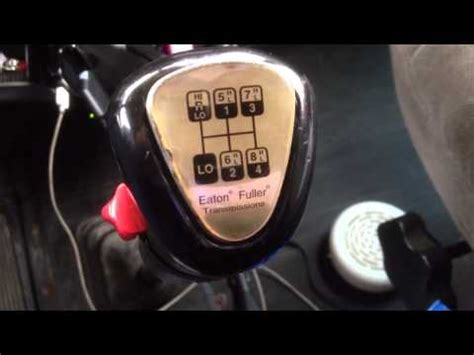 how to shift a 13 speed tractor trailer youtube