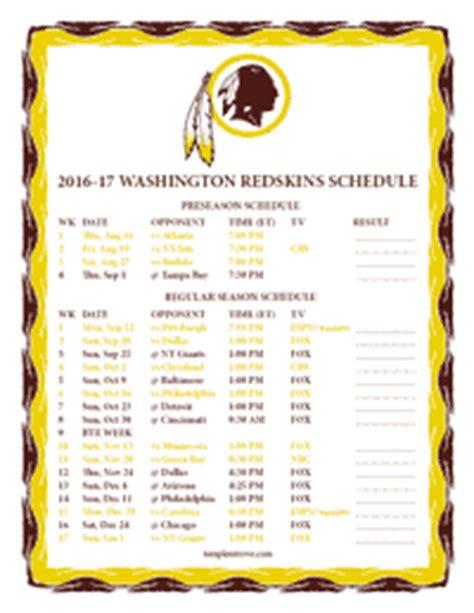 schedule 2015 2016 printable printable seahawks schedule