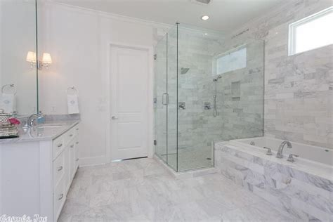 honed marble bathroom traditional master bathroom in little rock ar zillow