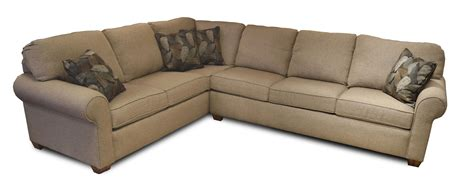 flexsteel thornton 2 sectional ruby gordon