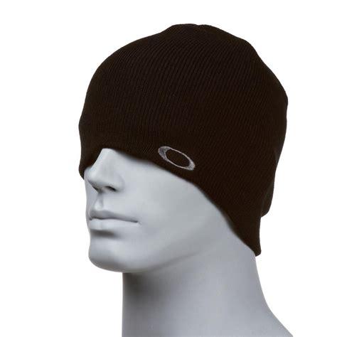 black knit beanie oakley knit 3 0 beanie black free uk delivery on