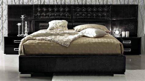 italian bed la star composition 06 modern italian bed black