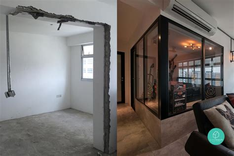 5 must see before and after hdb renovations qanvast