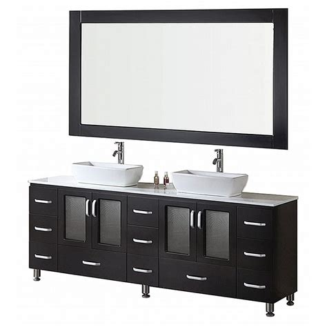 home depot design vanity design element stanton 36 in w x 20 in d vanity in antique white design element stanton 72 in w x 20 in d vanity in