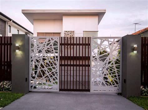 galeri warna cat pagar rumah  bagus informasi desain