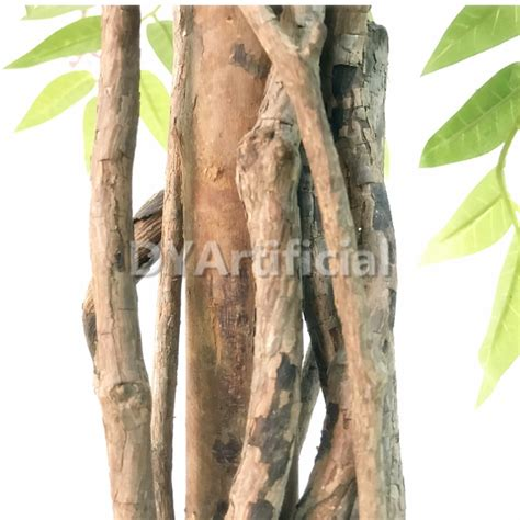 4ft wooden trunk purple artificial wisteria trees dongyi