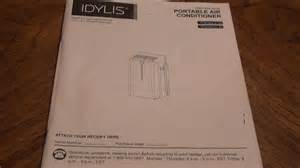 lowe s idylis 10 000 btu a c instructions model 0146709