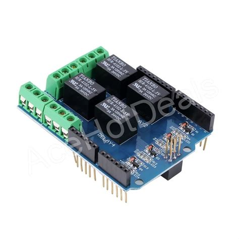 Arduino Relay Shield 4 Channel four channel relay shield 5v 4 channel relay shield module