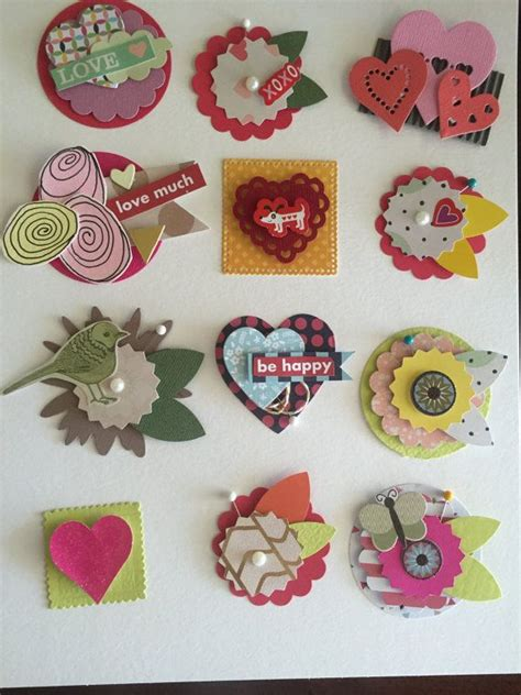 Handmade Embellishments For Scrapbooking - 408 best images about embellishments on