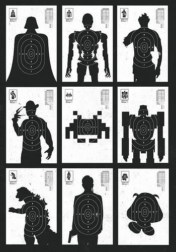 free printable monster targets essential target practice