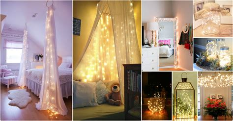 eye catching christmas fairy lights decor ideas
