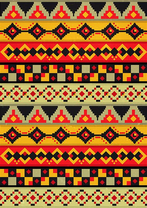 pattern design jobs online aztec patterns on behance