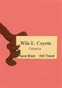 wile e coyote business card 18 best images about looney tunes on runners