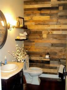 3 Piece Bathtub Surround 27 Beautiful Diy Bathroom Pallet Projects For A Rustic