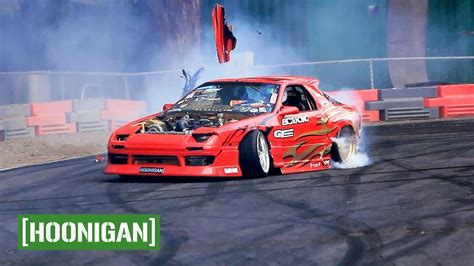 hoonigan cars hoonigan unprofessionals ep8 smashing cars at pat s