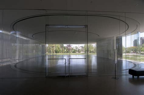 pavillon glas rund pritzker prize worthy sanaa s glass pavilion at the