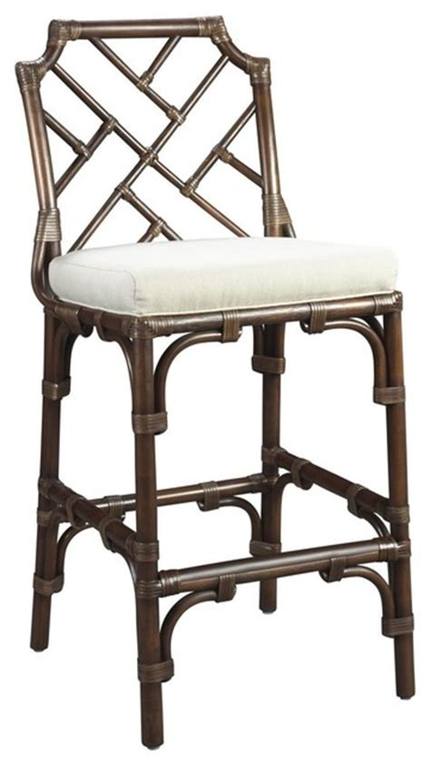 Bar Stools West Palm Beach | palm beach chippendale bar chair mahogany beach style