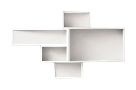 Plain White Shelves Shellf Shelf Small Plain W 117 X H 67 Cm White By