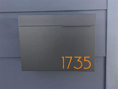 Modern Wall Mailbox by Best 25 Modern Mailbox Ideas On Contemporary