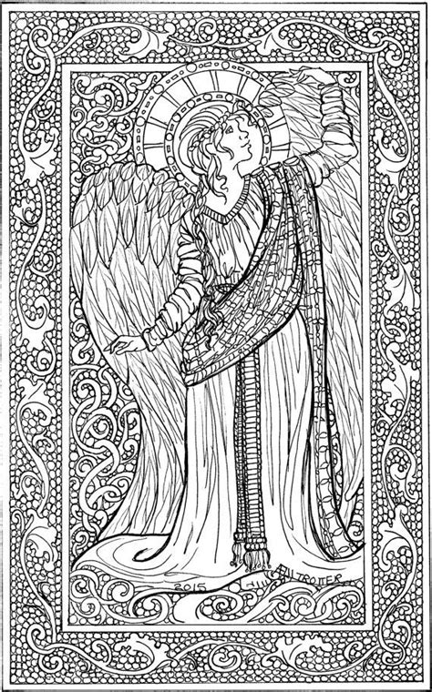 coloring pages for adults angels 10 images about adult colouring fairies angels on