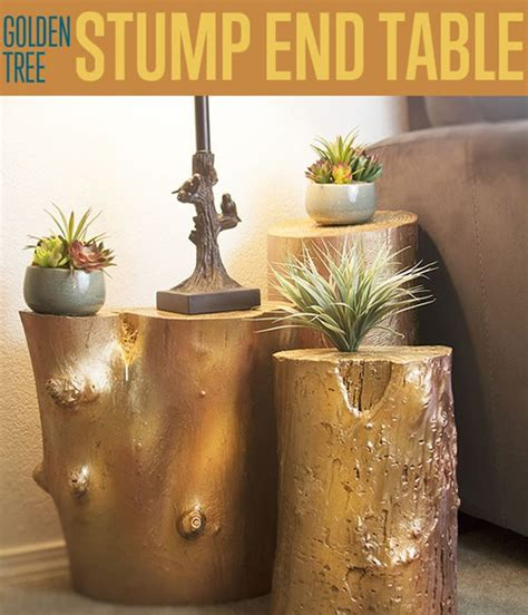 how to a tree stump end table golden tree stump end table how to build a table diy ready