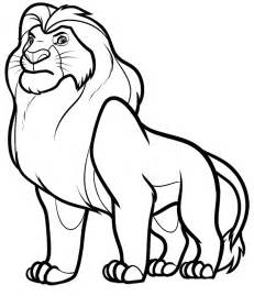 simba coloring pages simba coloring pages az coloring pages