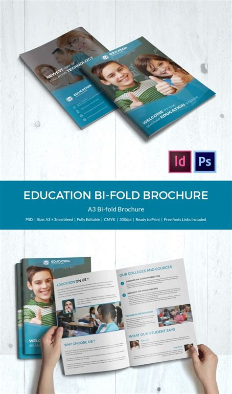 Education Brochure Template 43 Free Psd Eps Indesign Format Download Free Premium Templates Bi Fold Brochure Template