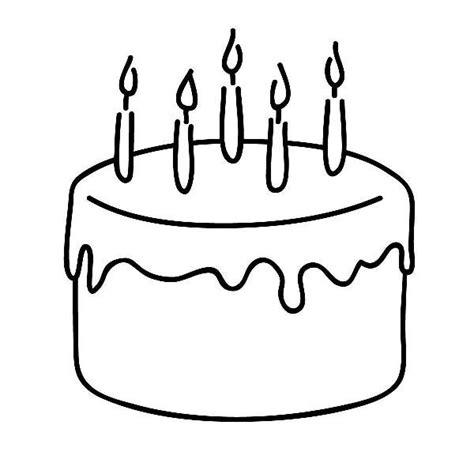 Birthday Cake Clipart Black And White birthday cake clip free black and white clip tonvert cliparting