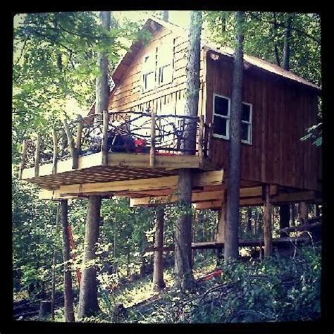 tree houses for rent in ohio tree house rental in ohio vacation rentals pinterest