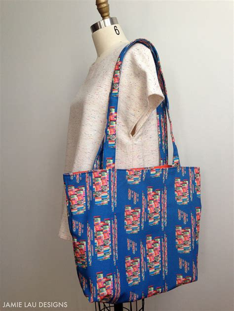 Stitch Up a Lined and Reversible Tote Bag   Spoonflower Blog