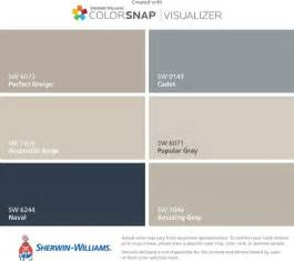 Sherwin Williams Light French Gray Paint whole house paint palette will my house be a snore fest