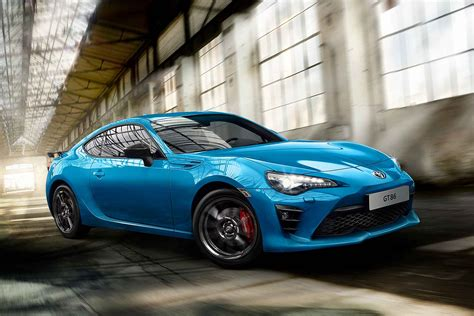 toyota gt86 one toyota gt86 blue edition revealed motoring