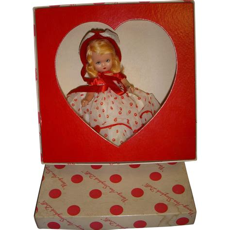 bisque storybook dolls vintage boxed bisque nancy storybook doll quot of