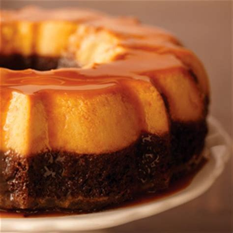 13 Ingredients And Directions Of Chocolate Cheese Flan Receipt by Chocolate Flan Cake