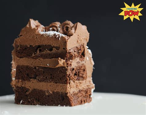 protein cake chocolate coconut protein cake
